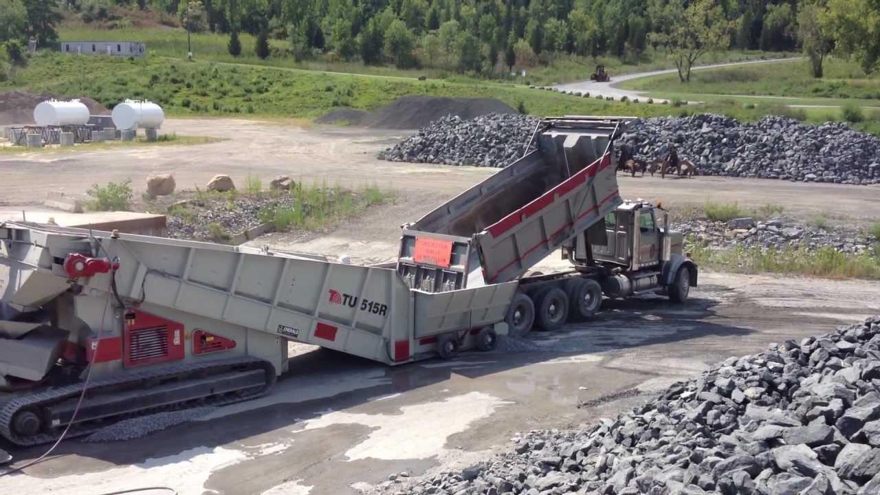 Déchargeurs des camions principale