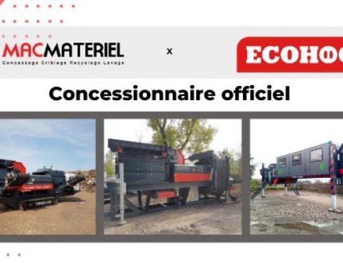 MACMATERIEL, concessionnaire officiel ECOHOG